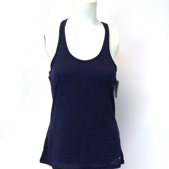 117b6d03d1d891 New Champion Blue DuoDry+ Athletic Tank Top